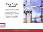 para anisic alcohol