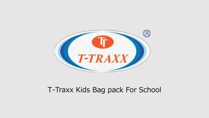 t traxx kids bag pack for school n.
