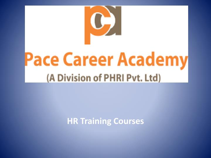 hr training courses n.