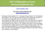 fin 515 education on your terms tutorialrank com 27