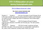 fin 515 education on your terms tutorialrank com 9