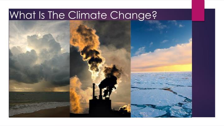 what is the climate change n.