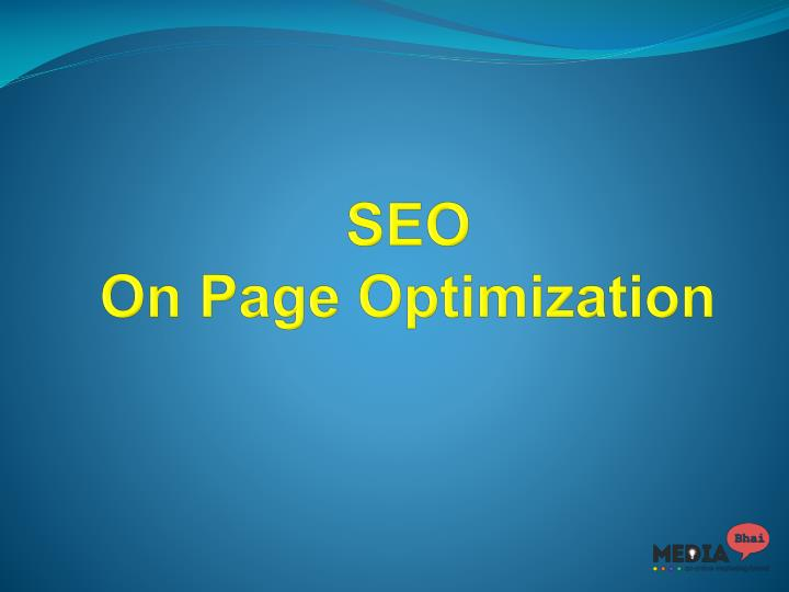 seo on page optimization n.