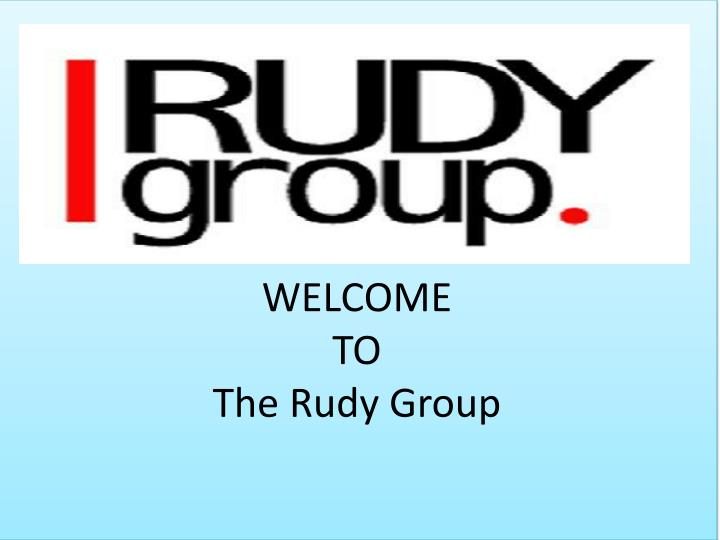 welcome to the rudy group n.
