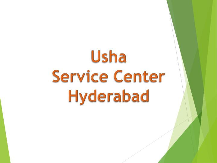 usha service center hyderabad n.