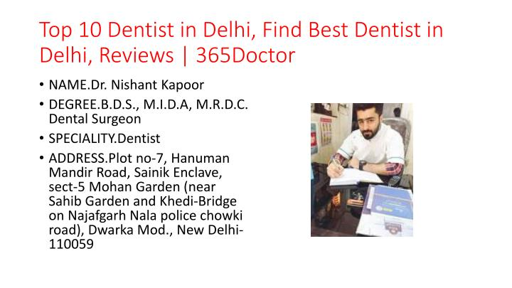 top 10 dentist in delhi find best dentist in delhi reviews 365doctor n.