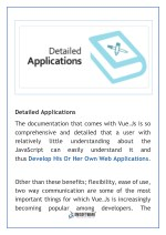 detailed applications