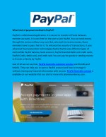 what kind of payment method is paypal