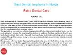 best dental implants in noida 1