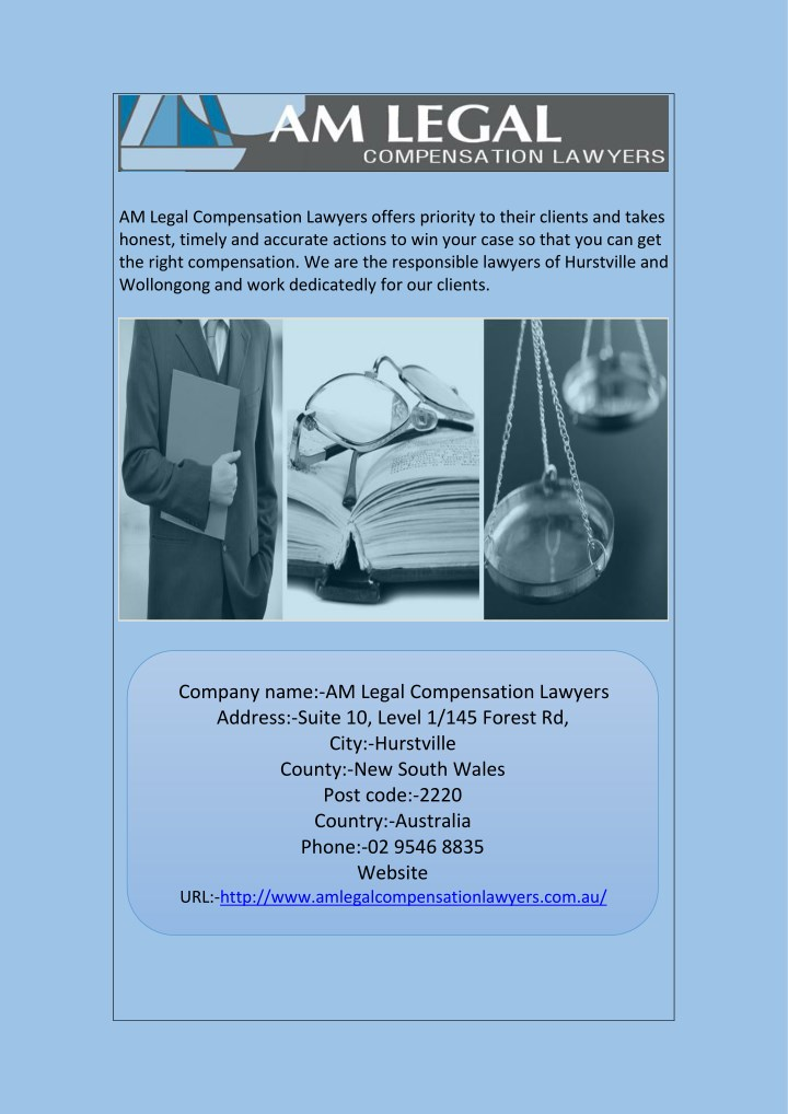 am legal compensation lawyers offers priority n.