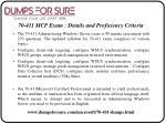 70 411 mcp exam details and proficiency criteria