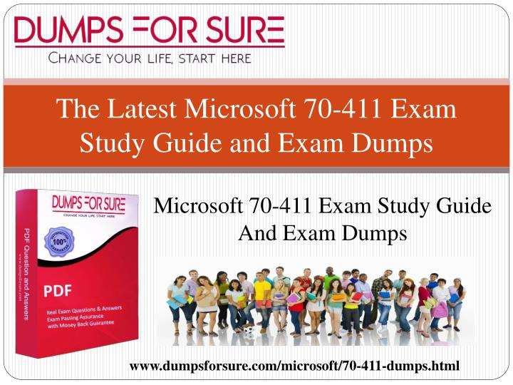 the latest microsoft 70 411 exam study guide and exam dumps n.