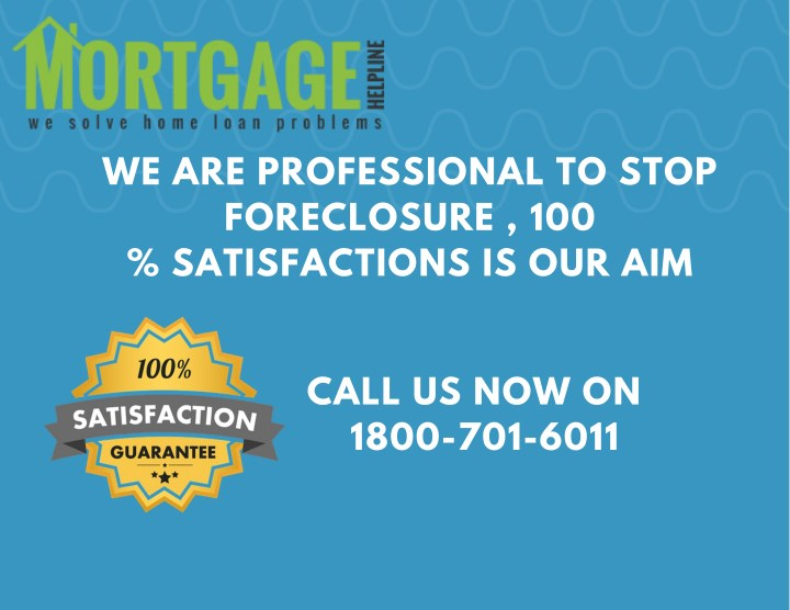 we are professional to stop foreclosure n.