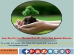 lawn care services overland park ks lawn care