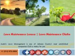 lawn maintenance lenexa lawn maintenance olathe