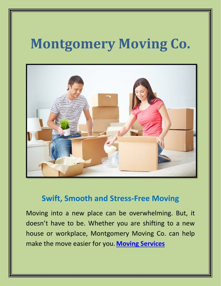 montgomery moving co n.