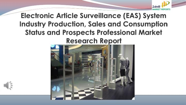 electronic article surveillance eas system n.