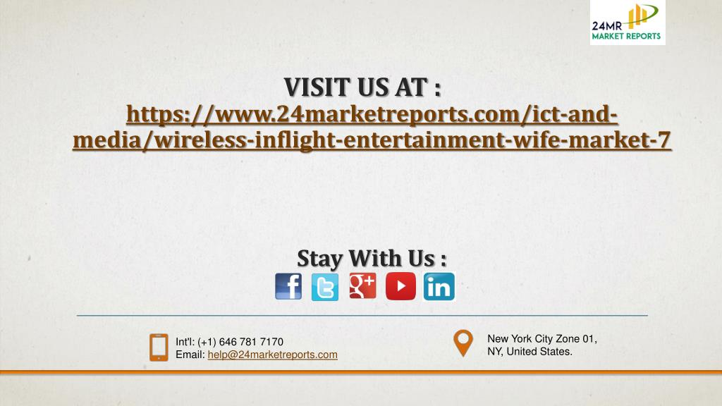 PPT - Wireless In Flight Entertainment W IFE Market Size, Status and