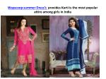 wayscoop summer dress s provides kurti is the most popular attire among girls in india 3