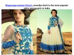 wayscoop summer dress s provides kurti is the most popular attire among girls in india 6