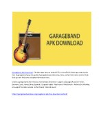 garageband apk download