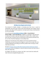 all about eco elegant and its goals