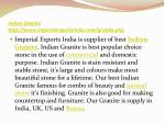 indian granite http www imperialexportsindia com granite php