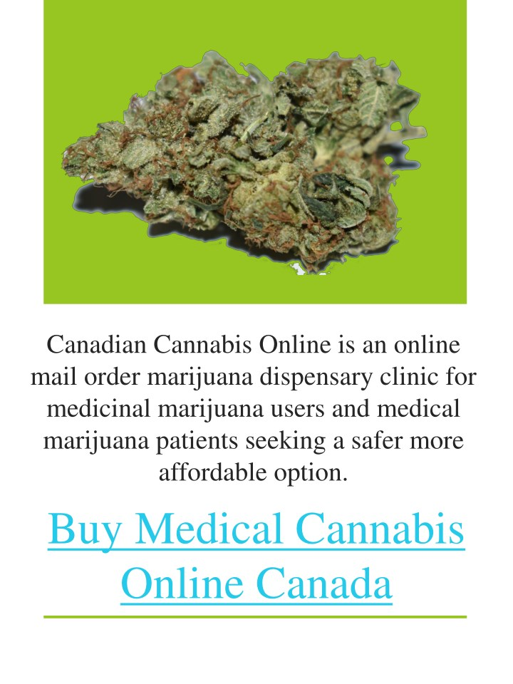 canadian cannabis online is an online mail order n.