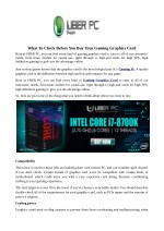 what to check before you buy your gaming graphics