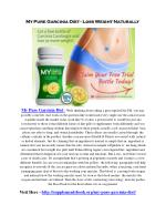 my pure garcinia diet loss weight naturally