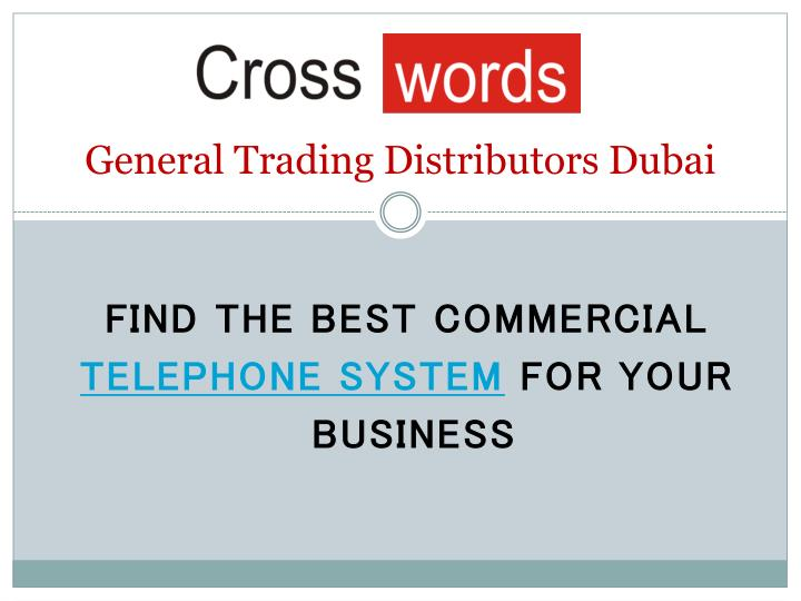 general trading distributors dubai n.