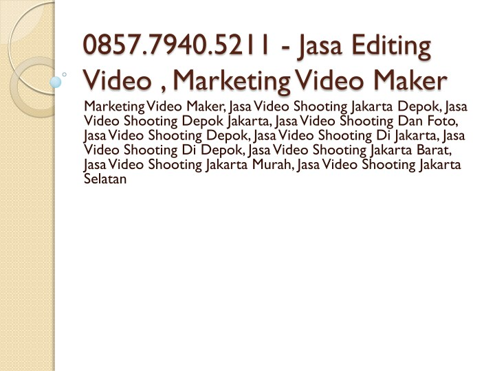 0857 7940 5211 jasa editing video marketing video n.