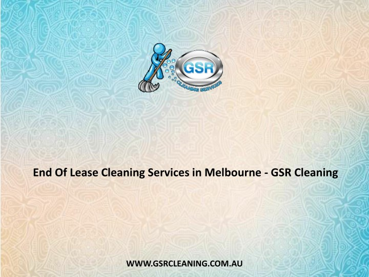 end of lease cleaning services in melbourne n.