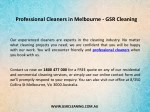 professional cleaners in melbourne gsr cleaning 1