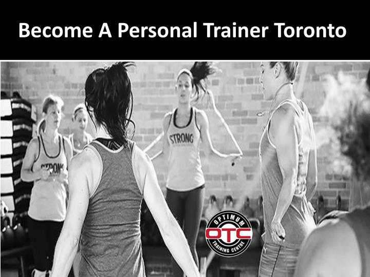 become a personal trainer toronto n.