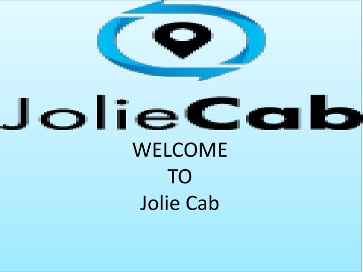 welcome to jolie cab n.
