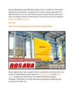 rosava engineering group offer wide variety
