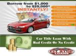 car title loan with bad credit or no credit