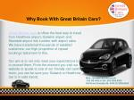 why book with great britain cars
