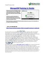 mongodb training in noida 1