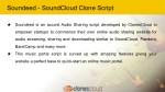 soundeed soundcloud clone script