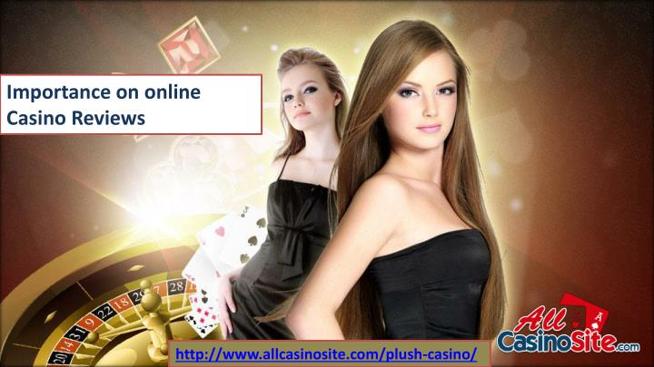 importance on online casino reviews n.