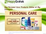 buy personal care products online at big discounts