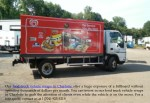 our food truck vehicle wraps in charlotte offer