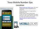 trace mobile number gps location