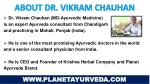 about dr vikram chauhan