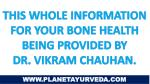 this whole information for your bone health being
