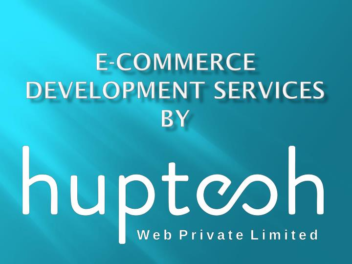 e commerce development services by n.