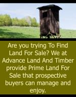 are you trying to find land for sale