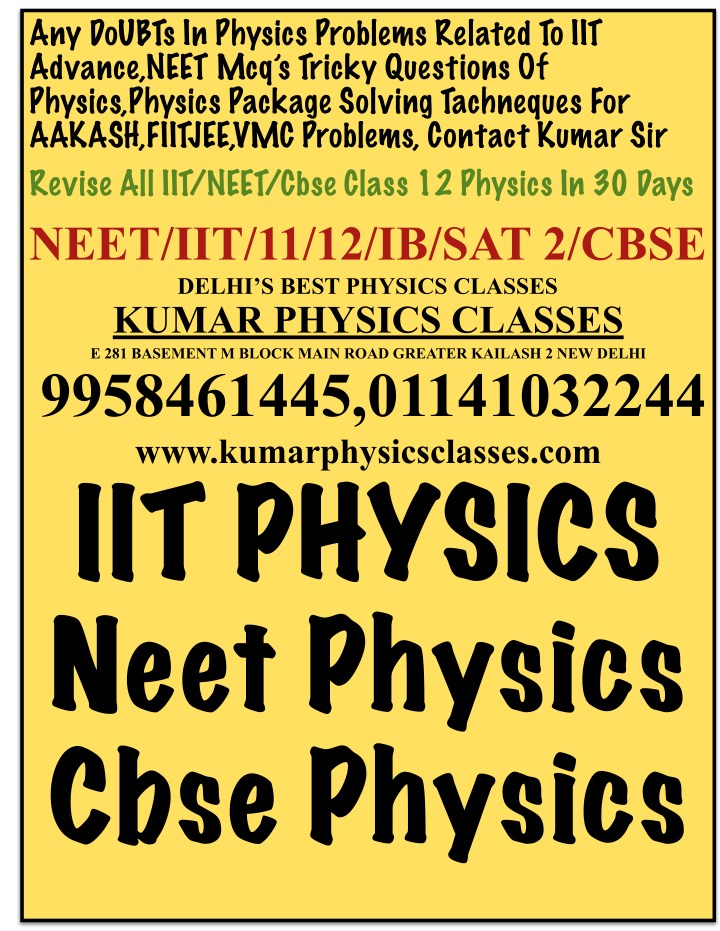 any doubts in physics problems related to iit n.